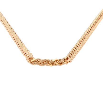 14K Yellow Gold 18