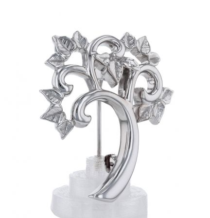 14K White Gold Mother's Family Tree