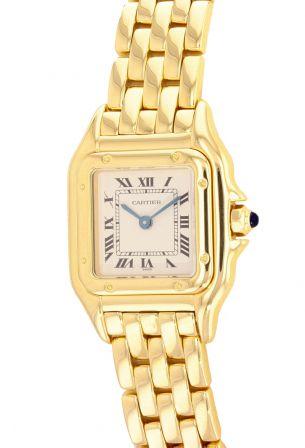 Cartier Panthere 18K Yellow Gold Ladies 22mm Quartz Watch
