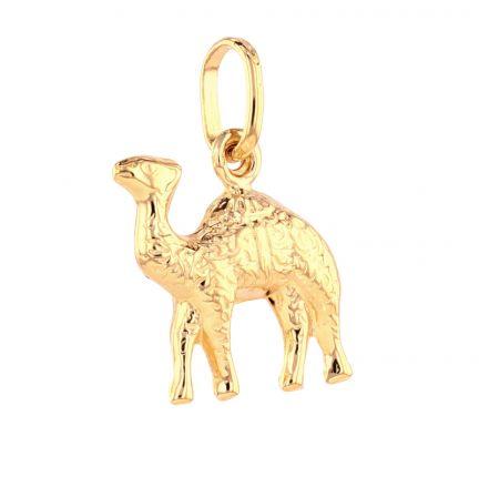 18k Yellow Gold Camel Charm