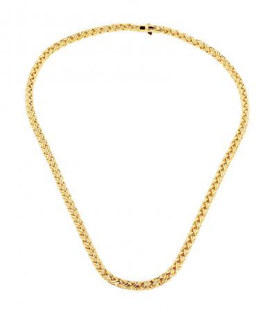 14k Yellow Gold Tiffany & Co. Wheat Chain