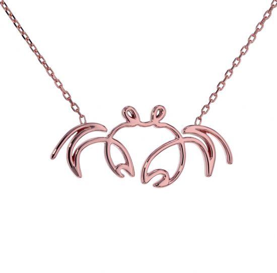 "Kristopher Mark ""SoSo Crabby"" Necklace"