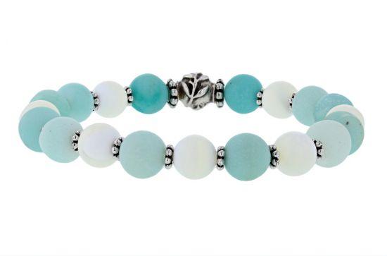 """Palpitations """"Balance"""" Bracelet with Amazonite Beads"""