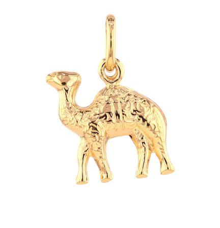 18k Yellow Gold Camel Charm