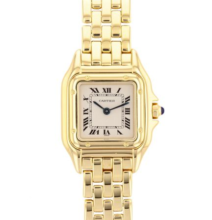Cartier Panthere 18K Yellow Gold Ladies 22mm Quartz Watch